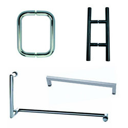 Pull handles and towel bars