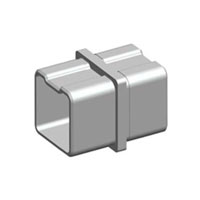 180°Square Connector